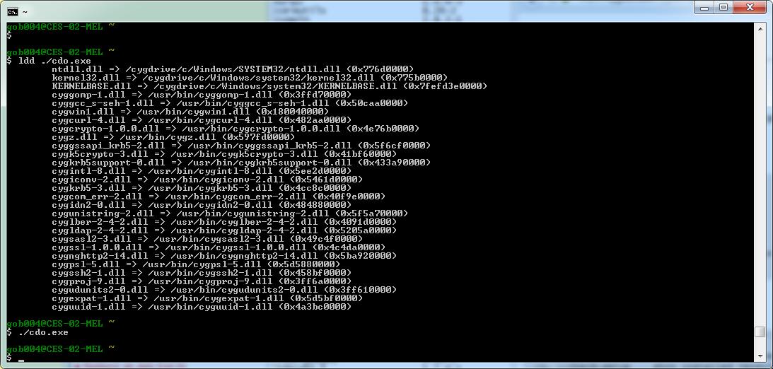 Updated Windows 10 cygwin Install? - CDO - Project