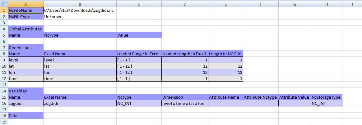 Lat Long Excel